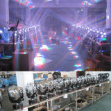 LED 12X12W Futebol Moving Head Wash Disco Ball Luz