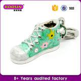 El zapato de bebé lindo cristalino de moda al por mayor encanta la joyería