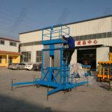 Mast-Arbeitsaufzug-Tisch-Aluminiumlegierung-hydraulisches Höhenruder des Mann-10m