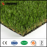 Parede artificial verde da grama do relvado 30mm para o jardim