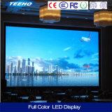Afficheur LED d'intérieur visuel du mur P5 1/8s RVB de définition élevée