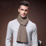 De lãs novas da forma dos homens lenço tecido acrílico de nylon do inverno (YKY4615)