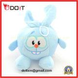 Stuk speelgoed van de Hond van de Kat van de Levering van het Product van het huisdier het Mooie Blauwe Pluche Gevulde