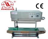 Máquina contínua automática portátil da selagem da automatização do empacotador com altura telescópica de elevação ajustável do selo para o saco vertical da embalagem do malote