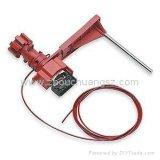 Lucchetto di sicurezza utilizzato facilmente con il bloccaggio universale della valvola del singolo braccio