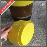 Protecteur enfoncé par LDPE épais d'embout de tuyau de matériau (YZF-H362)