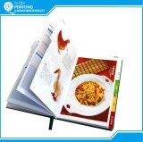 Notebook tapa dura Impresión con la hoja de plata que estampa (A-V1-14)