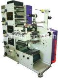 Flexographic 인쇄 기계 4 색깔은 절단과 째기 정지한다