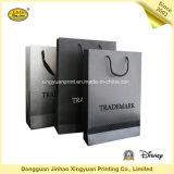 Schwarze Paper Einkaufstasche mit Handle (JHXY-PBG0016)