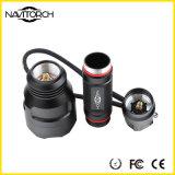 260 루멘은 방수 처리한다 Recharegable 토치 (NK-13)를 운영하게 쉬운 IP-X6를