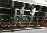 자동적인 지도하 가장자리 die-cutting 기계를 홈을 파는 공급 골판지 flexo printing