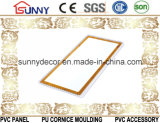 Panneau de mur de estampage chaud de PVC de plafond de PVC de panneau de PVC