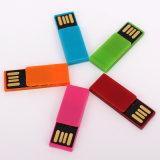 Movimentação plástica do flash do USB do projeto simples (UL-P019)