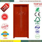 Portello contemporaneo di legno del PVC di disegno