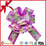 Envoltura de regalo de tracción Impreso arco de la cinta PP para el Día de San Valentín