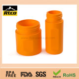 Vasilha plástica do plástico do frasco dos materiais diferentes do tamanho TPR
