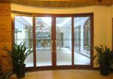 Aluminiumschiebetür-hohles Hartglas für Wohnraum (FT-D190)