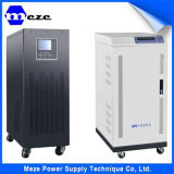 UPS em linha solar trifásico do sistema de energia com potência do UPS de Meze 120kVA