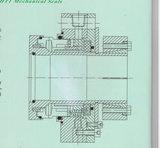 Guarnizione meccanica non standard di industria delle acque luride (HT1)