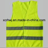 Fabricante reflexivo da veste, fábrica da veste da segurança, preço Sleeveless reflexivo da camisa do tráfego da estrada, veste elevada da visibilidade, vestes da segurança de tráfego