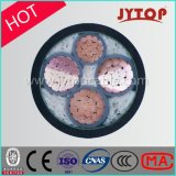 케이블 0.6/1 Kv 3+1 코어 XLPE 절연제, PVC/PE 칼집 힘 구리 케이블