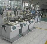 TM 400p 자동적인 수직 편평한 진공 흡입 세륨 스크린 인쇄 기계