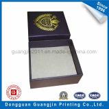 Boîte-cadeau spéciale de papier lustré pour l'emballage de bijou