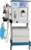 Máquina de anestesia de hospital Wt852-E con una botella