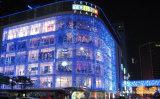 Luz colorida da corda do diodo emissor de luz do Natal interno ao ar livre da decoração