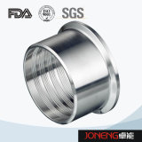 Acoplador sanitario del acero inoxidable (JN-FL1002)
