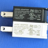 5V 500mA AC/DC USB Charger 또는 Power Supply UL/GS /CE/PSE/FCC
