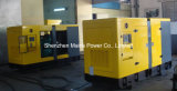 90kVA 72kw Yuchai leiser Dieselgenerator-schalldichtes Kabinendach