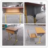 Bureau d'élève d'école et présidence simples en bois moyens (SF-01S)