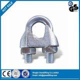 Clip malléable de câble métallique de Galv de B de qualité
