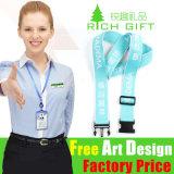 Lanière multicolore respectueuse de l'environnement faite sur commande bon marché en gros de ruban d'usine