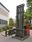 1500kg Load CapacityのVna Three-Way Pallet Stacker