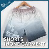 Inone 096 Mens nada Shorts ocasionais da placa das calças curtas