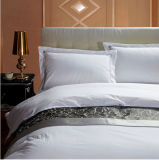 Luxo Hotel Textile Cotton White Hotel Embroidery Beddings Sets