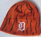 Связанные зимой шлем/крышка жаккарда, фасонируют теплый Beanie