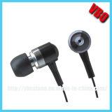 Trasduttore auricolare per iPhone5, trasduttore auricolare del metallo di alta qualità per Samsung