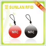NFC OEM anti etiqueta engomada del metal en China Ntag213 NFC Tag regrabable NFC Tag