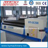 曲がるW11-8X2000機械タイプ3転送の炭素鋼の版機械を形作る