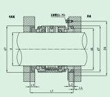 Selo mecânico da extremidade dobro (HUU805)