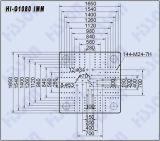 1080tプラスチック注入形成機械こんにちはG1080