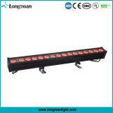 High Power CE 16PCS 15W RGBW LED DMX mur extérieur Laver Lumière