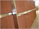 Almofada refrigerar evaporativo da exploração avícola com frame de alumínio