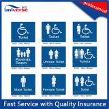 Qualität ABS Blindenschrift Signage für Toilet