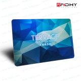 13.56MHz smart card plástico da microplaqueta RFID com logotipo personalizado