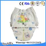 Tecidos descartáveis macios respiráveis do bebê com cintura elástica