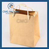 Saco de papel do presente decorativo com o fabricante barato da impressão da grade da alta qualidade (DM-GPBB-100)
